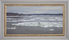 Volga River. Before Winter